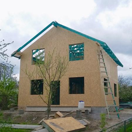 Каркасные дома цена - опция