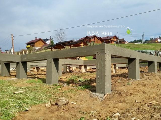 Строительство каркасных домов - фундамент